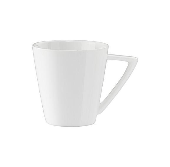 Kaffeetasse Pura in Weiß - Weiß, LIFESTYLE, Keramik (0,18l) - PREMIUM LIVING