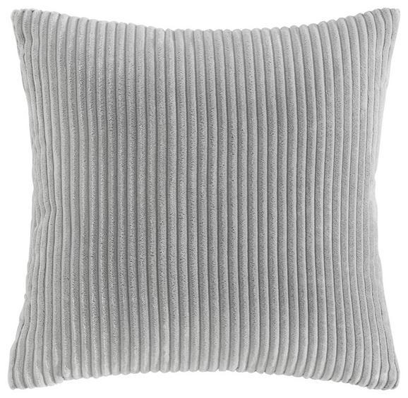 Kissen Layla ca.45x45cm in Hellgrau - Hellgrau, MODERN, Textil (45/45cm) - Mömax modern living