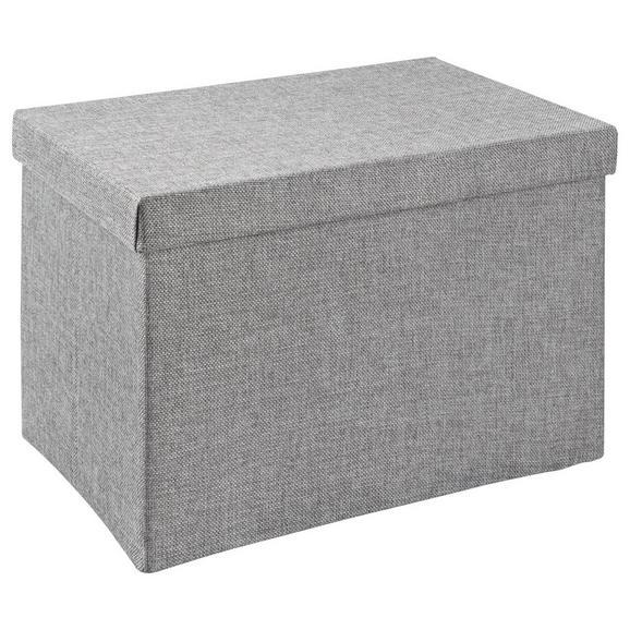 aufbewahrungsbox cindy in grau online kaufen m max. Black Bedroom Furniture Sets. Home Design Ideas