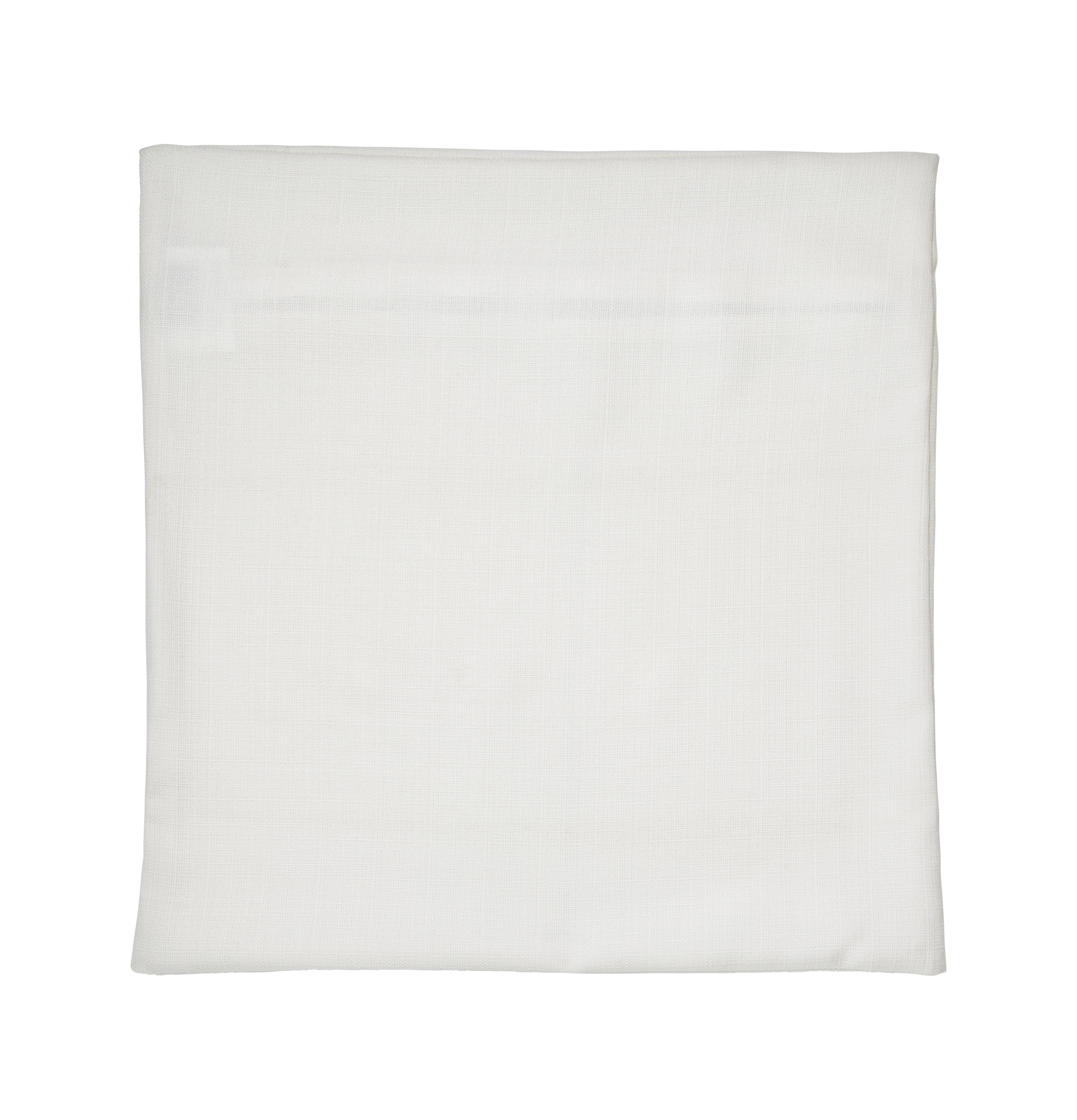 Párnahuzat Törtfehér - natúr színek, konvencionális, textil (50/50cm) - premium living