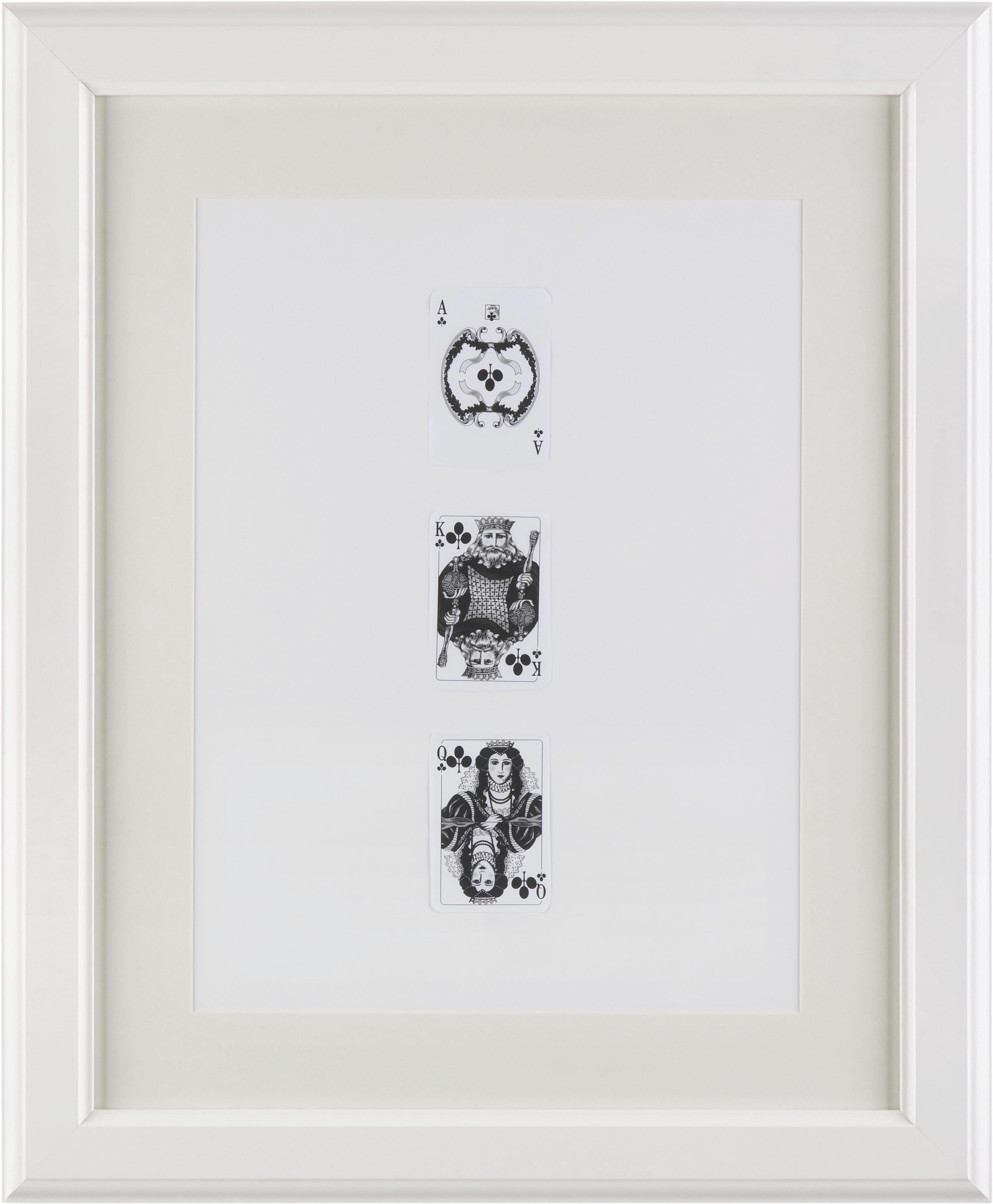 Bilderrahmen Provence, ca. 40x50cm - Weiß, ROMANTIK / LANDHAUS, Glas/Holz (40/50cm) - MÖMAX modern living
