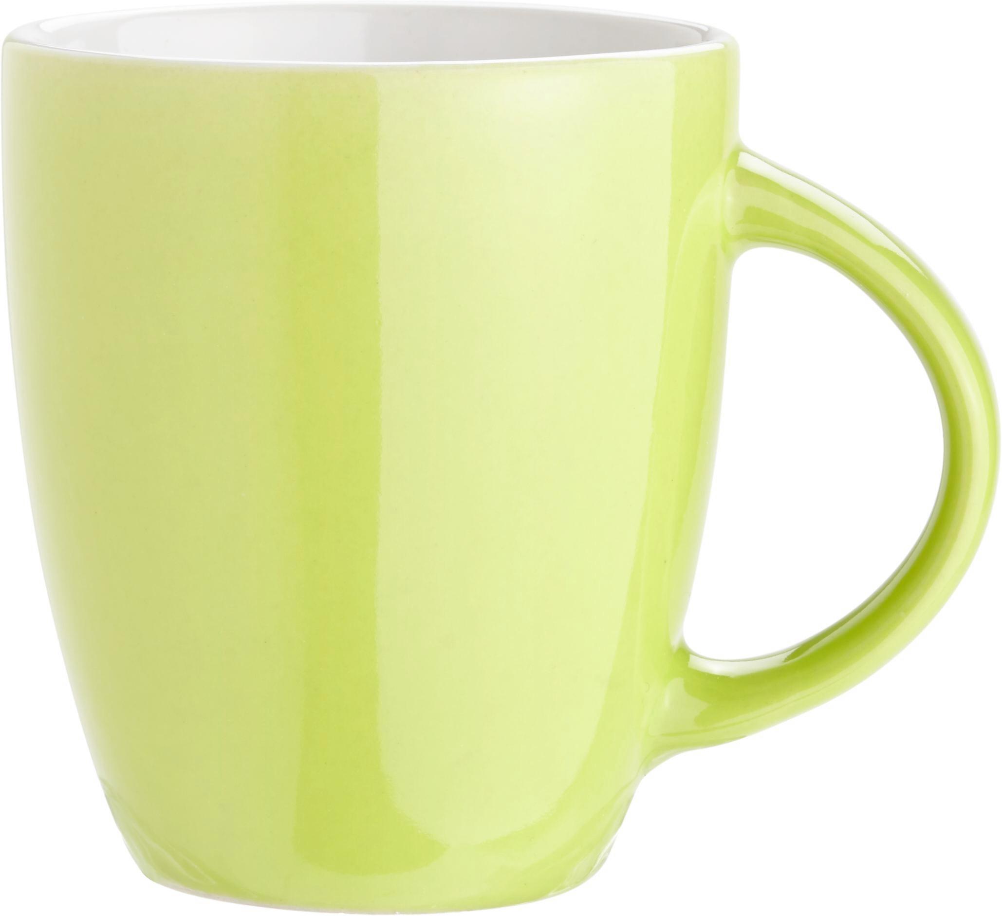 Kávésbögre Senseo - türkiz/szürke, romantikus/Landhaus, kerámia (7,2/8cm) - MÖMAX modern living