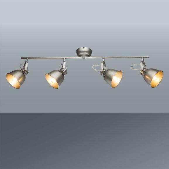 Strahler Ulf max. 40 Watt - Grau, MODERN, Metall (83/21cm) - Premium Living