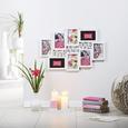 Okvir Za Slike Andrea - bela, Moderno, umetna masa/steklo (60/40/2cm) - Mömax modern living