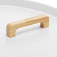 Couchtisch Jill Ø ca.50cm - Weiß/Pinienfarben, MODERN, Holz/Holzwerkstoff (50/50cm) - Modern Living