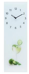 Stenska Ura Hugo - večbarvno, Konvencionalno, kovina/steklo (20/60/3,5cm)