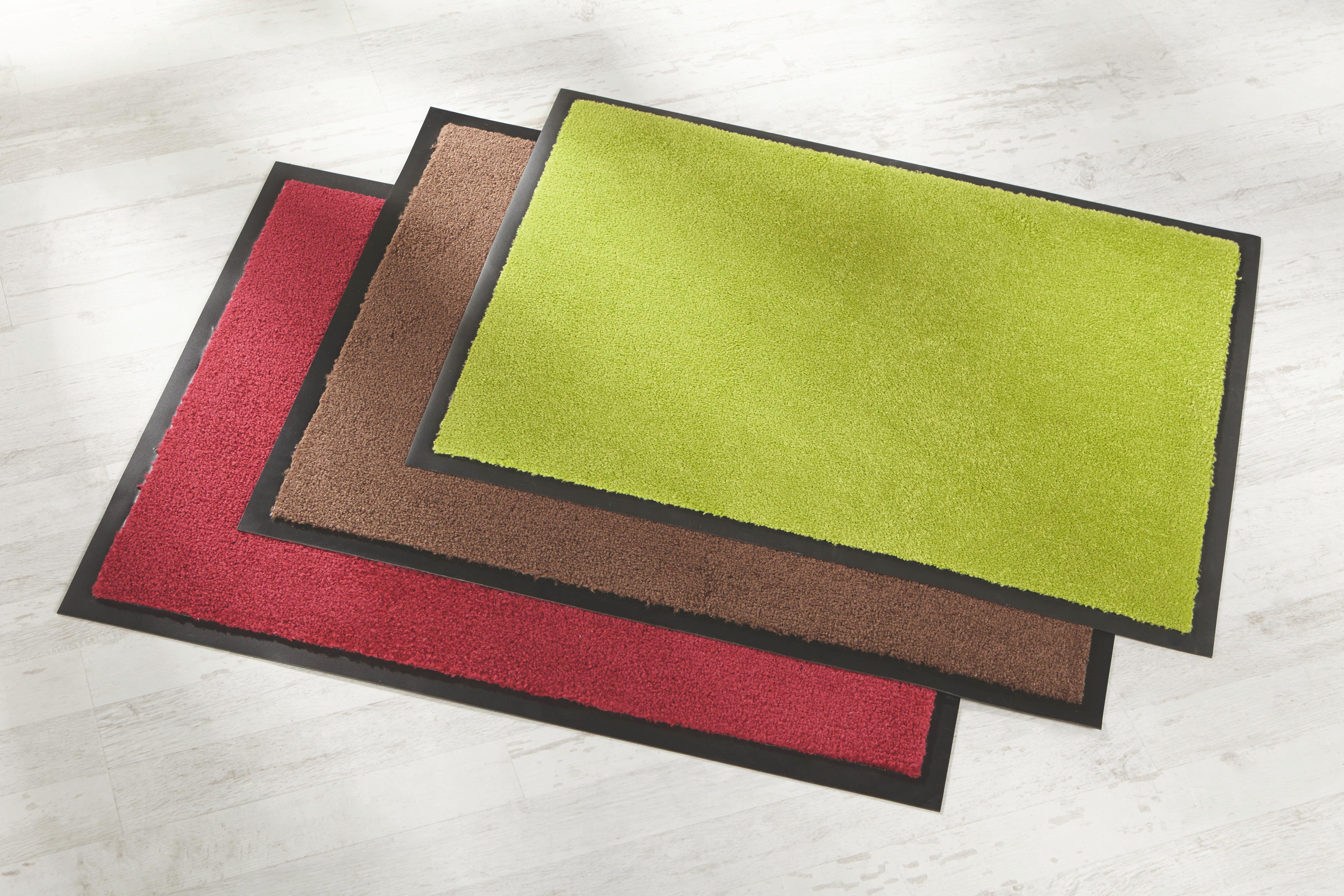 Fußmatte Eton in Rot, ca. 40x60cm - Rot, LIFESTYLE, Textil (40/60cm) - MÖMAX modern living