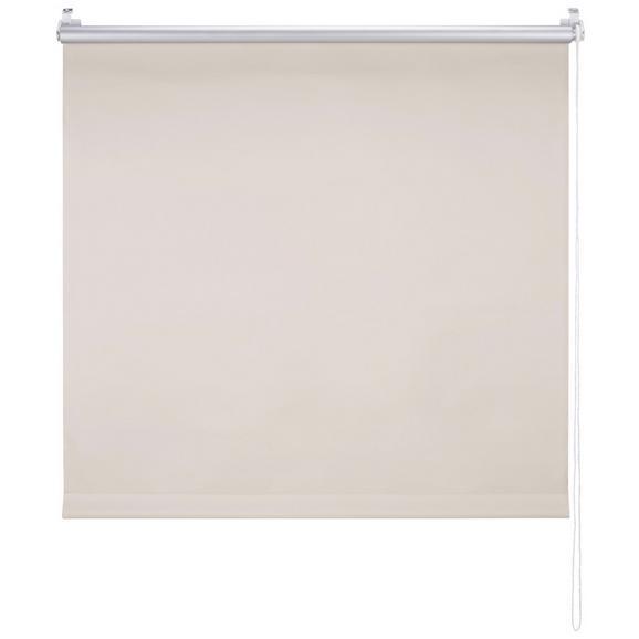 Klemmrollo Thermo ca. 90x210cm - Sandfarben, Textil (90/210cm) - Premium Living