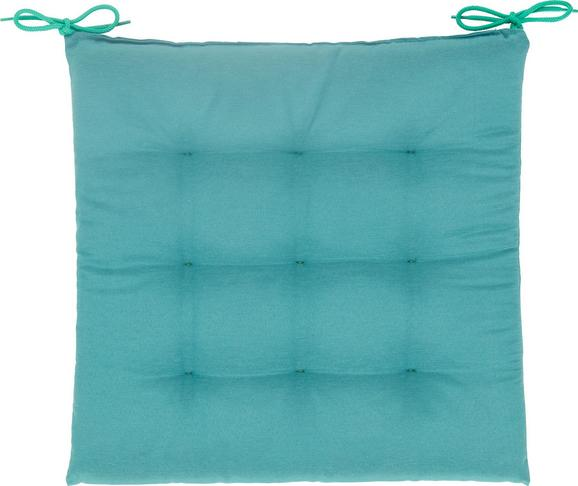 Sitzkissen Anita in Jade ca. 40x40x4cm - Jadegrün, Textil (40/40/4cm) - MÖMAX modern living