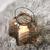 Teelichthalter Celine Ø/H ca. 18/17,33 cm - Schwarz/Braun, MODERN, Glas/Metall (18/17,33cm) - Bessagi Home