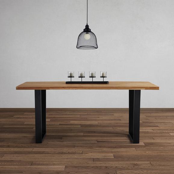 tisch kayla aus eiche echtholz ca 180x90 cm online kaufen m max. Black Bedroom Furniture Sets. Home Design Ideas