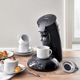 Kaffeepadmaschine Senseo - Schwarz, MODERN, Kunststoff/Metall - PHILIPS