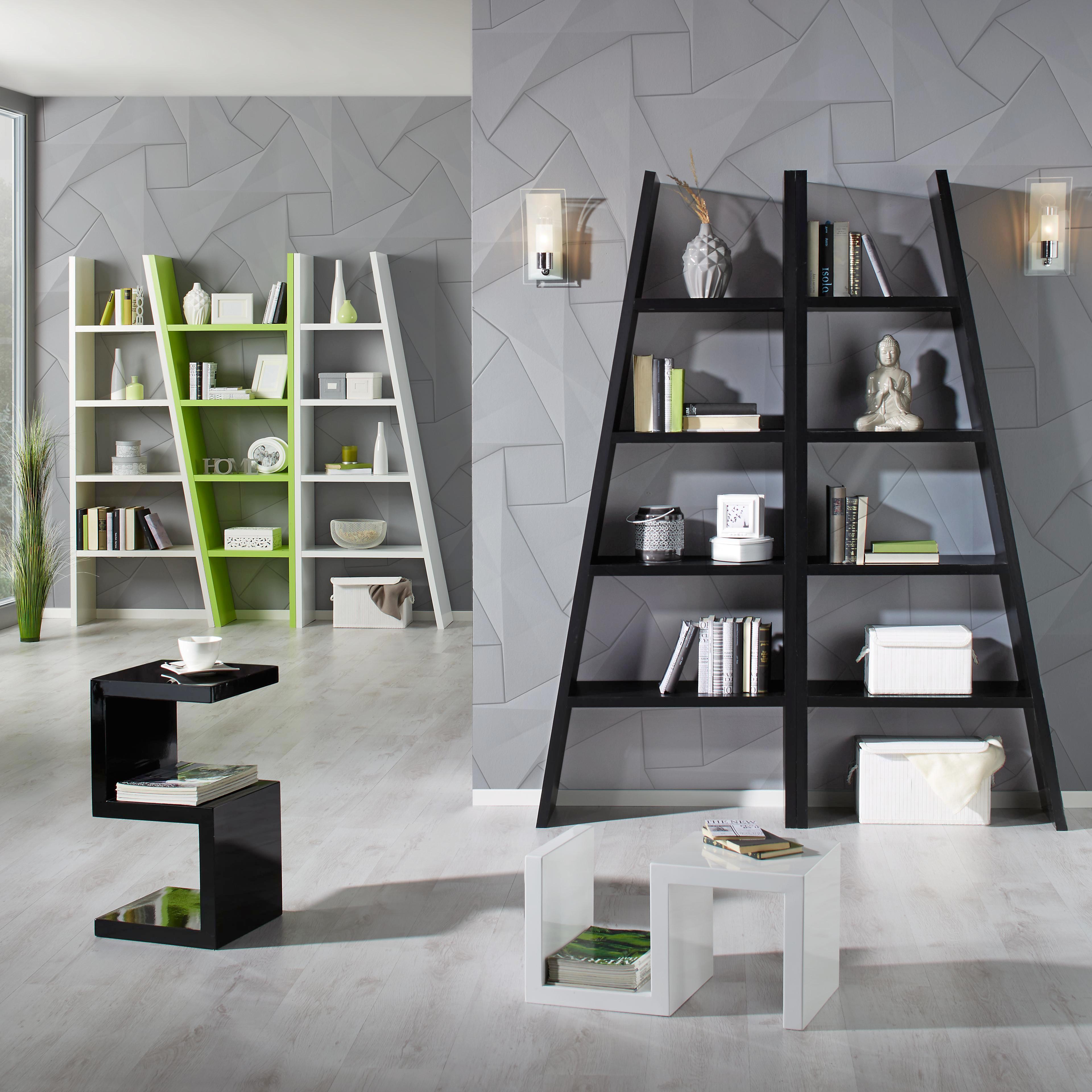 Regal in Weiß lackiert - Weiß, Holzwerkstoff (42-76/190/30cm) - MÖMAX modern living