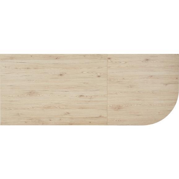 Schreibtischplatte in Eichefarben - Eichefarben, MODERN, Holz (120/70-76/80cm) - Mömax modern living