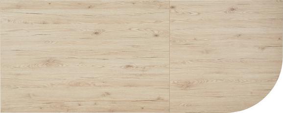 Schreibtischplatte San Remo Eiche - Eichefarben, MODERN, Holz (120/70-76/80cm) - Mömax modern living