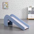 KINDERRUTSCHE in blau/grau 'Elephant' - Blau/Grau, MODERN (155/68/45cm) - Bessagi Kids