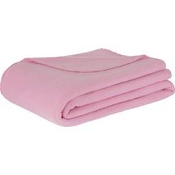 Fleecedecke Trendix Rosa 130x180cm - Rosa, Textil (130/180cm) - Mömax modern living