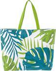 Torba Za Na Plažo Green Leaf - modra/zelena, tekstil (44/15cm) - Mömax modern living