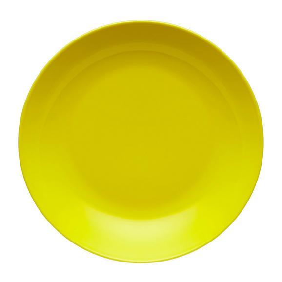 Suppenteller Sandy aus Keramik Ø ca. 20cm - Gelb, KONVENTIONELL, Keramik (20/3,5cm) - Mömax modern living