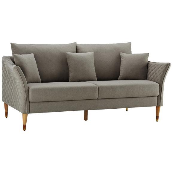sofa valeria dreisitzer inkl r ckenkissen kissen online kaufen m max. Black Bedroom Furniture Sets. Home Design Ideas