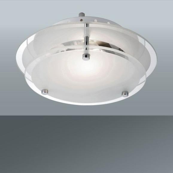 Mennyezeti Lámpa Adam - konvencionális, üveg/fém (25/7,5cm)