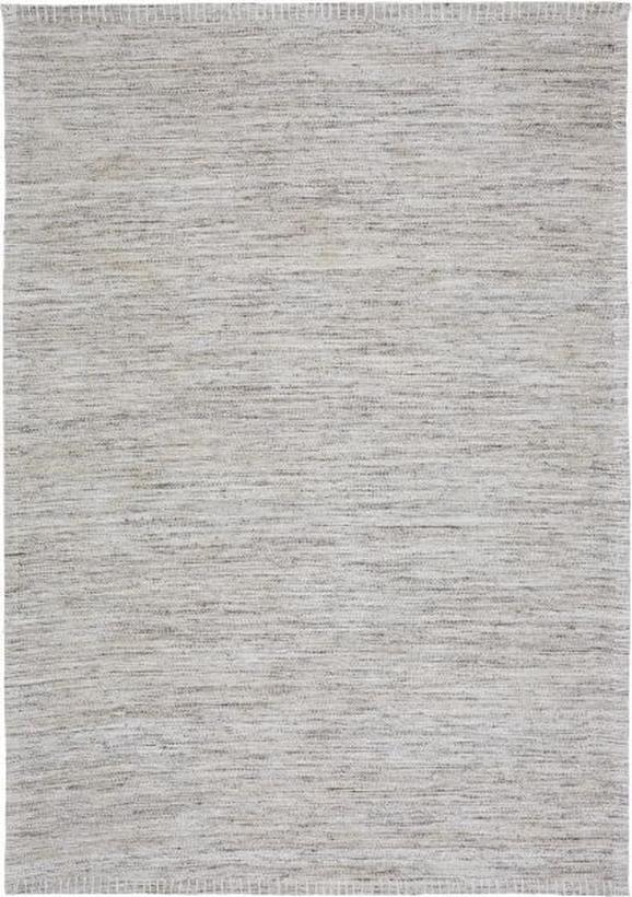 Flachwebeteppich abra, ca. 160x230cm - Dunkelgrau, ROMANTIK / LANDHAUS, Textil (160/230cm) - MÖMAX modern living