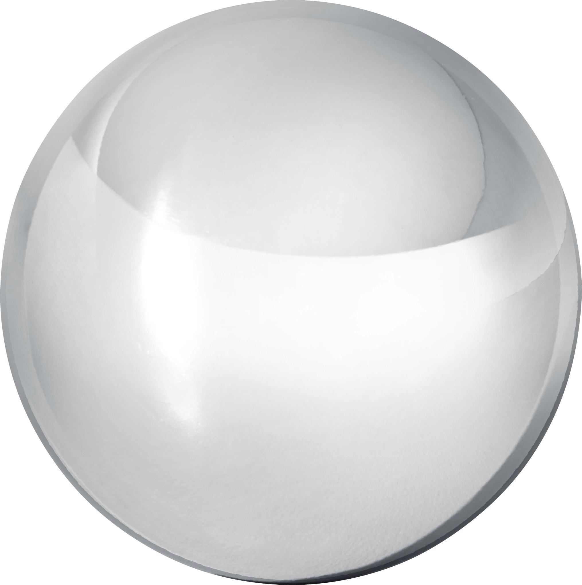Dekokugel 28 cm Mia - Silberfarben, Metall (28cm) - MÖMAX modern living