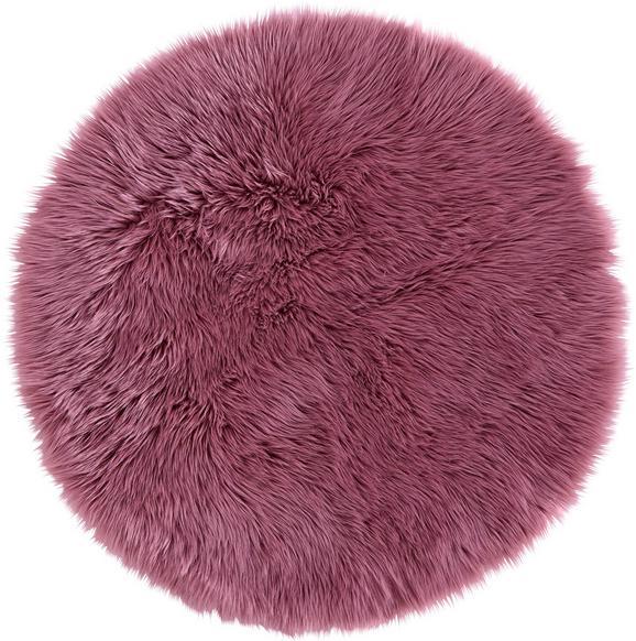 Kunstfell Teddy, Ø ca. 100cm - Flieder, ROMANTIK / LANDHAUS, Textil (100cm) - MÖMAX modern living