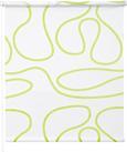 Klemmrollo Move, ca. 75x160cm - Weiß/Grün, KONVENTIONELL, Textil (75/160cm) - Mömax modern living