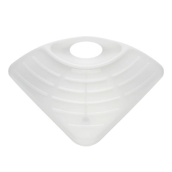 Geschirrabtropftasse Manu - Weiß, Kunststoff (27,5/19,5/5,5cm) - MÖMAX modern living