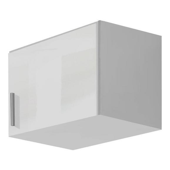 Nastavek Za Enodelno Omaro Celle - aluminij/bela, Moderno, umetna masa/leseni material (47/39/54cm) - Mömax modern living