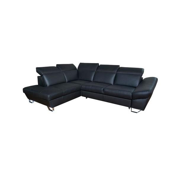 Wohnlandschaft in schwarz aus leder online kaufen m max Lederpflegemittel sofa