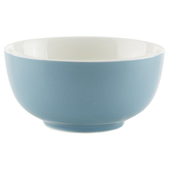 Bol Pentru Cereale Sandy - albastru, Konventionell, ceramică (13,7/6,6cm) - Modern Living