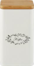 Doboz Tetővel Lore - Fehér, romantikus/Landhaus, Fa/Fém (11,5/11,5/19cm) - Zandiara