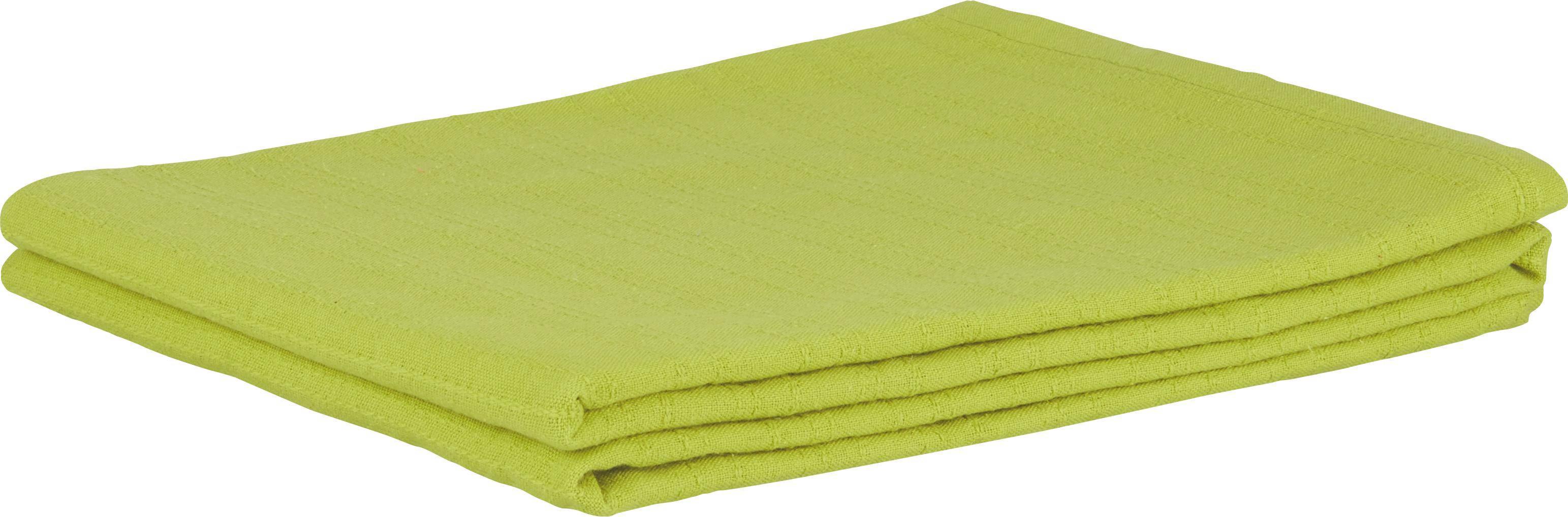 Ágytakaró Solid One - zöld, textil (140/210cm)