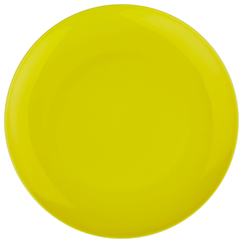 Dessertteller Sandy in Gelb aus Keramik - Gelb, KONVENTIONELL, Keramik (20,4/1,8cm) - MÖMAX modern living