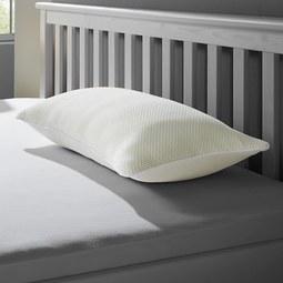 Nackenstützkissen Irisette 40x80 cm - Weiß, MODERN, Kunststoff/Textil (40/80cm) - Irisette