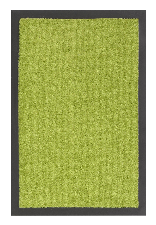 Fußmatte Eton in Grün, ca. 60x80cm - Grün, LIFESTYLE, Textil (60/80cm) - MÖMAX modern living