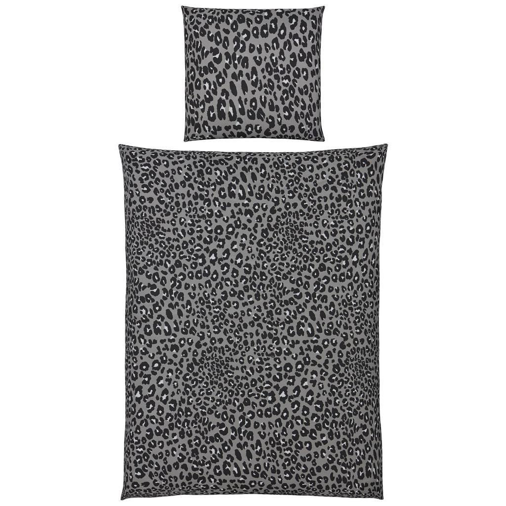 Bettwäsche Kerstin in Grau ca.135x200cm