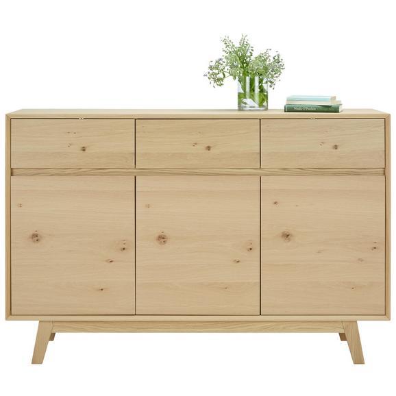 Sideboard in Eichefarben - Eichefarben, LIFESTYLE, Holz/Holzwerkstoff (150/100/40cm) - Premium Living