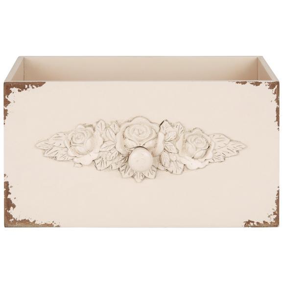Dekorativna Škatla Schubia - roza/pastelno roza, leseni material (33/18/18cm)