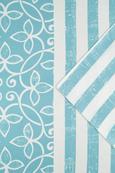 Bettwäsche Rita ca. 135x200cm - Taupe/Blau, Textil (135/200cm) - MÖMAX modern living