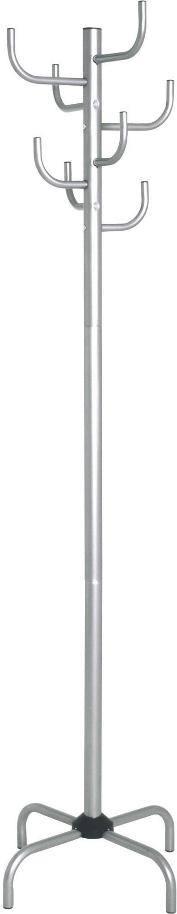 Ruhaakasztó Fogas Cactus - alu színű, modern, fém (47/180/47cm)