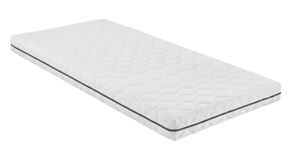Kaltschaummatratze ca. 120x200cm - Textil (200/120/14cm) - NADANA