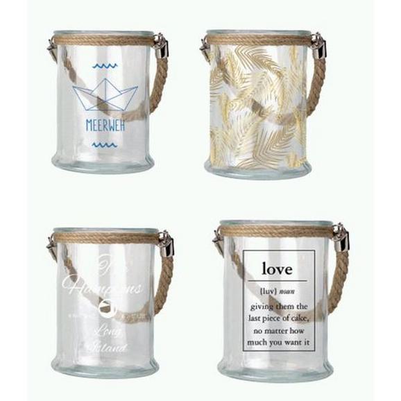 Windlicht Maggie aus Glas - Klar, Glas (12,5/17cm) - Mömax modern living
