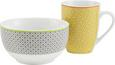 Kaffeebecher Sahara in Gelb aus Porzellan - Gelb/Orange, LIFESTYLE, Keramik (8/10,3cm) - MÖMAX modern living