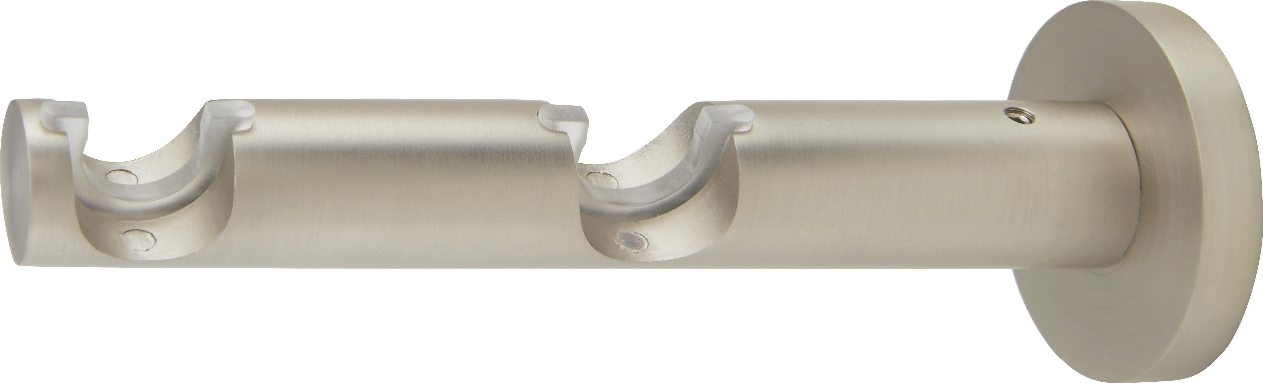 Karnistartó Rillcube - ezüst színű, fém (15cm) - MÖMAX modern living