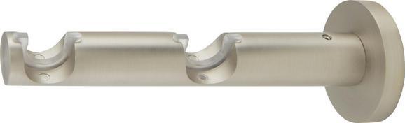 Träger Rillcube in Silber, ca. 15cm - Silberfarben, Metall (15cm) - Mömax modern living