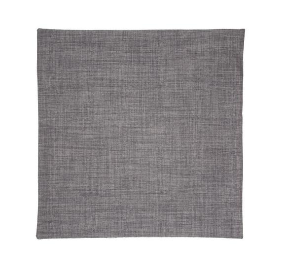 Kissenhülle Leinenoptik, ca. 50x50cm - Grau, KONVENTIONELL, Textil (50/50cm) - Premium Living