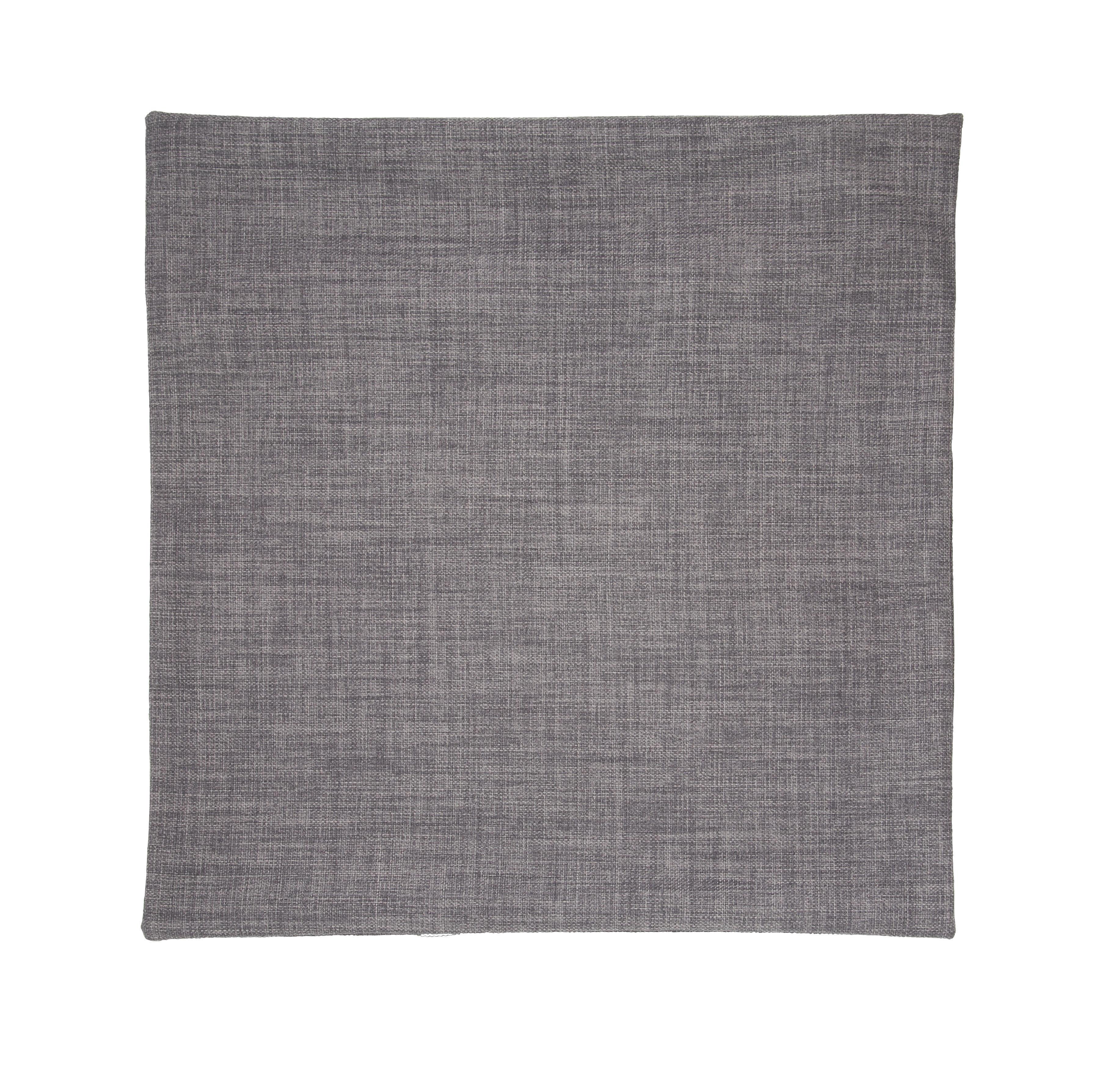 Párnahuzat Szürke Színű - szürke, konvencionális, textil (50/50cm) - premium living